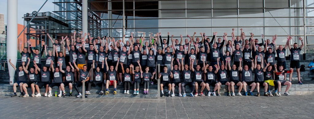 LBS team who ran Survival of the Fittest Cardiff 2014