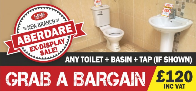 Grab a Bargain at LBS Aberdare
