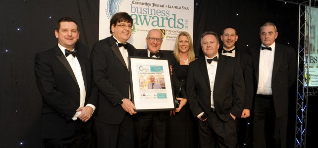 More success for LBS at the West Wales Business Awards
