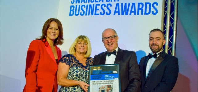 LBS wins Business of the Year at the Swansea Bay Business Awards for the second year in a row!